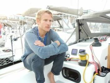 AGENT: Francois Gabart representerer RM-verftet i Skandinavia. Han seiler selv en RM 890, som nå skal byttes inn med en RM 970.