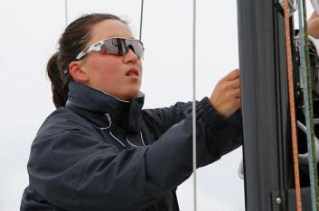 BESTE KVINNE: Christine Walder ble den beste kvinnelige shorthanded-seileren i 2016.