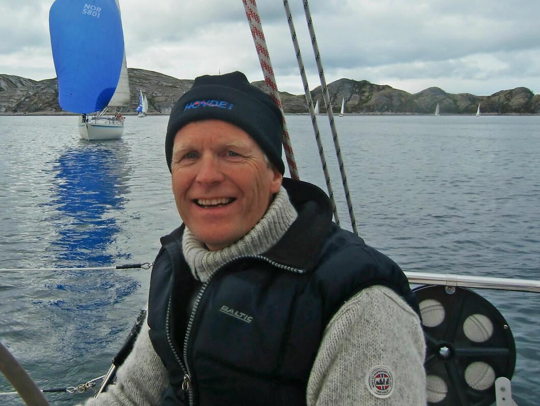 BODØ: Leder i Bodø Seilforening Bernt Aanonsen.