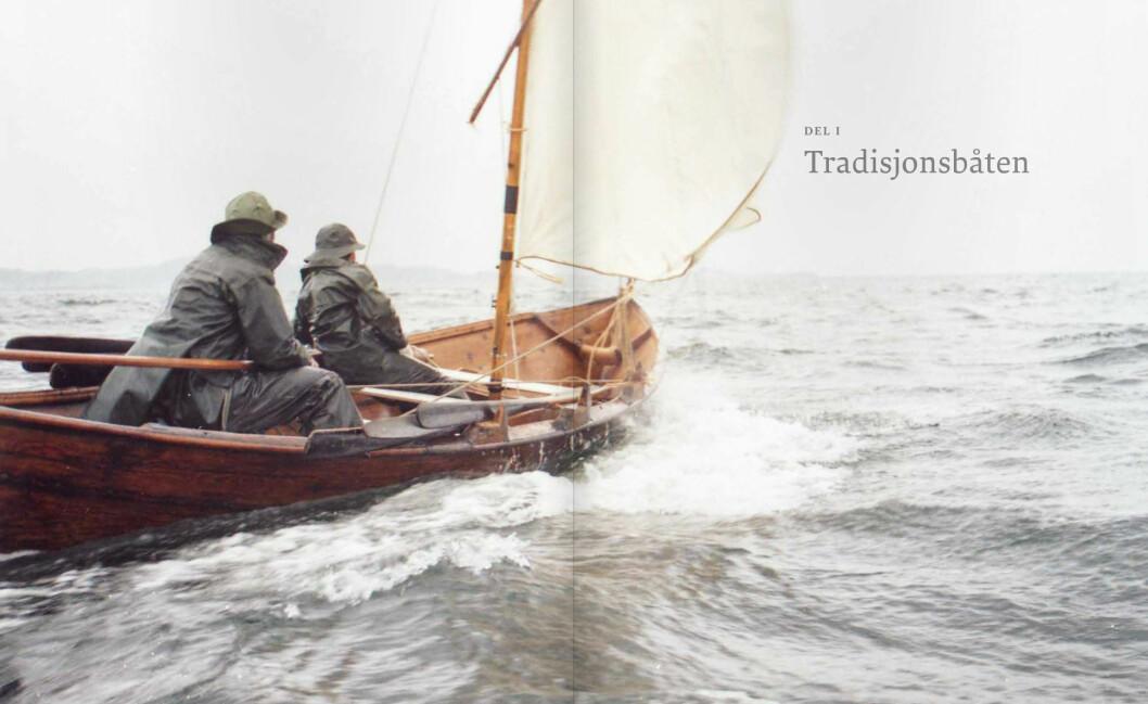 OSELVAR: Oselvaren er en av Norges eldste båttyper, men den er fortsatt i aktiv bruk av dagens seilere.