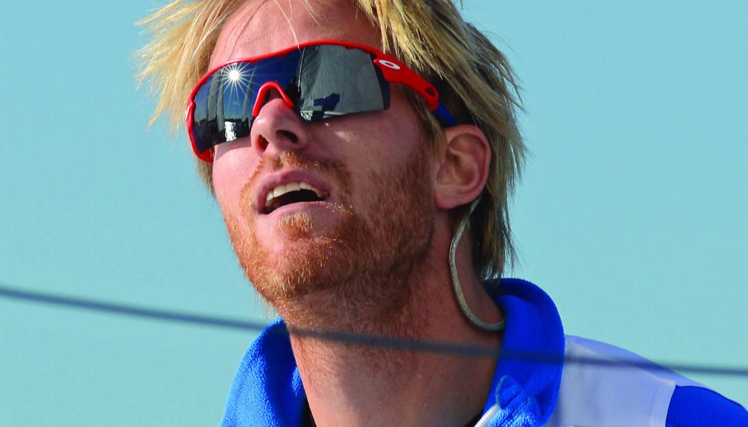 NORGESMESTER: Petter Mørland Pedersen i match racing.