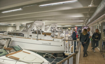 PERMANENT: Seilbåtene som er utstilt i Leangbukta vil stå der permanent frem til mai, og de vil ikke bli vist under Sjøen for alle.