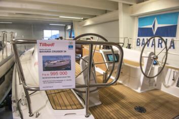 STØRST INTERESSE: Bavaria 34 Cruiser er den båten det er størst interesse for hos den nye importøren, Bavaria Båt Norge AS