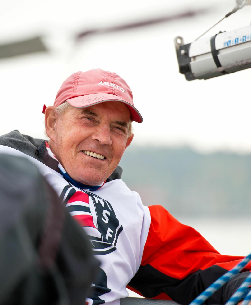 SISTE SEILAS: Birger Jansen måtte i natt gi tapt for kreftsykdommen han har kjempet med i en årrekke.
