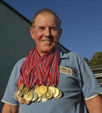 45 MEDALJER: Ingen kan skryte av å ha vunnet flere NM-medaljer enn Birger Jansen.