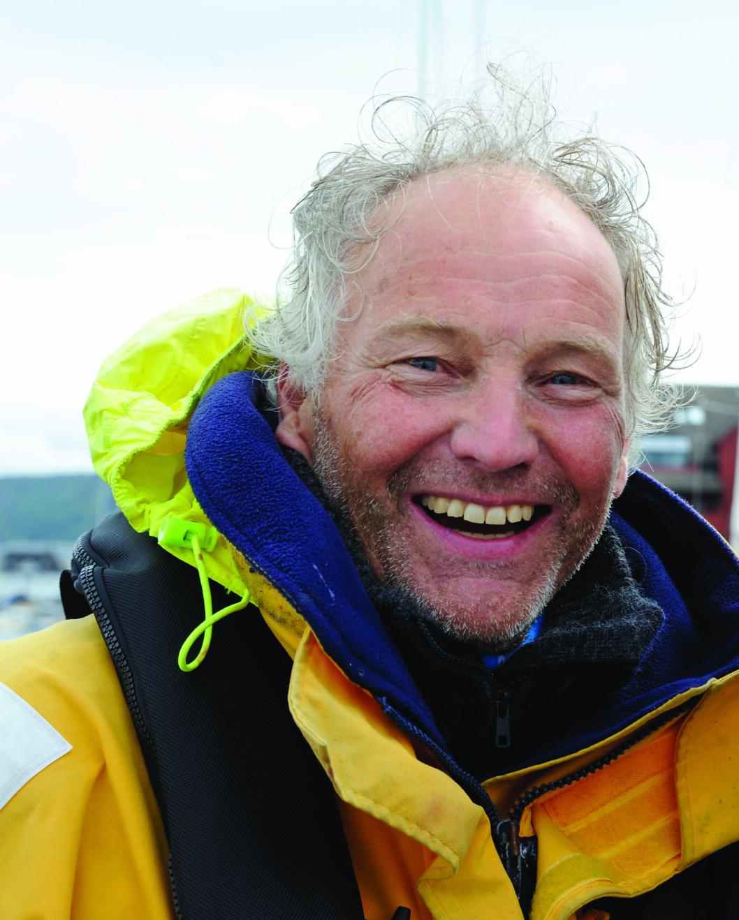 STRATEGI: Ove Lind etterlyser en klar strategi for som gir unge seilere en sportslig fremtid.
