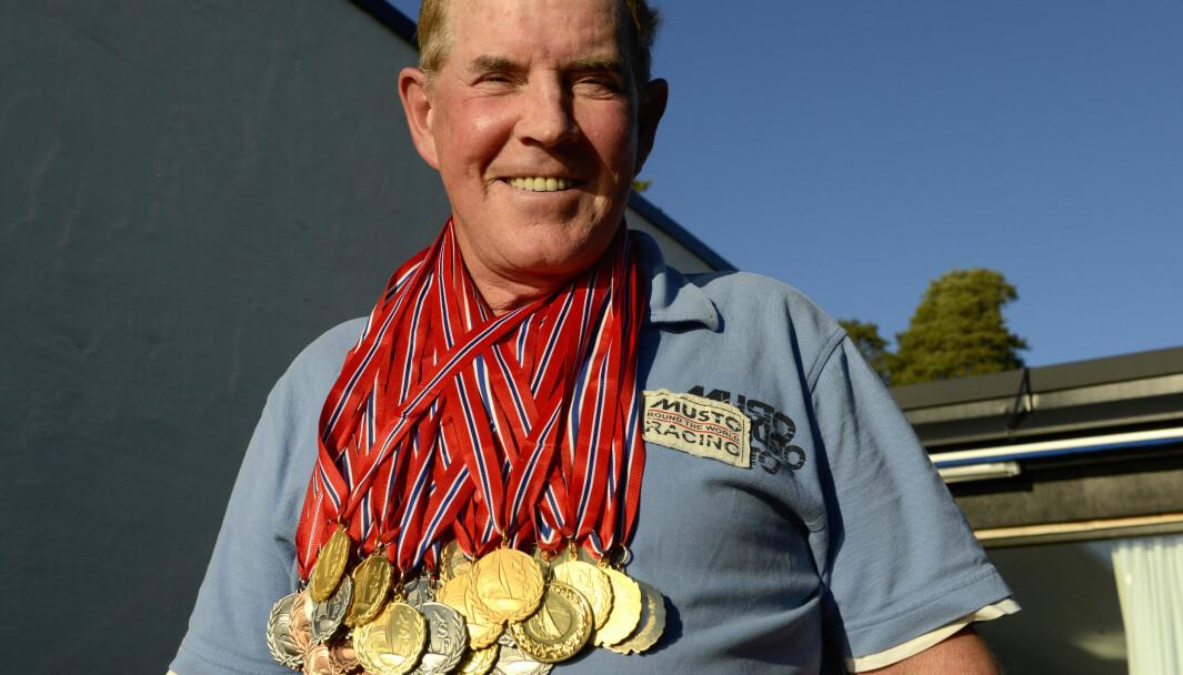 Birger «Bigga» Jansen med 47 NM medaljer, de fleste i Snipe, er nå innvotert i Hall of Fame.