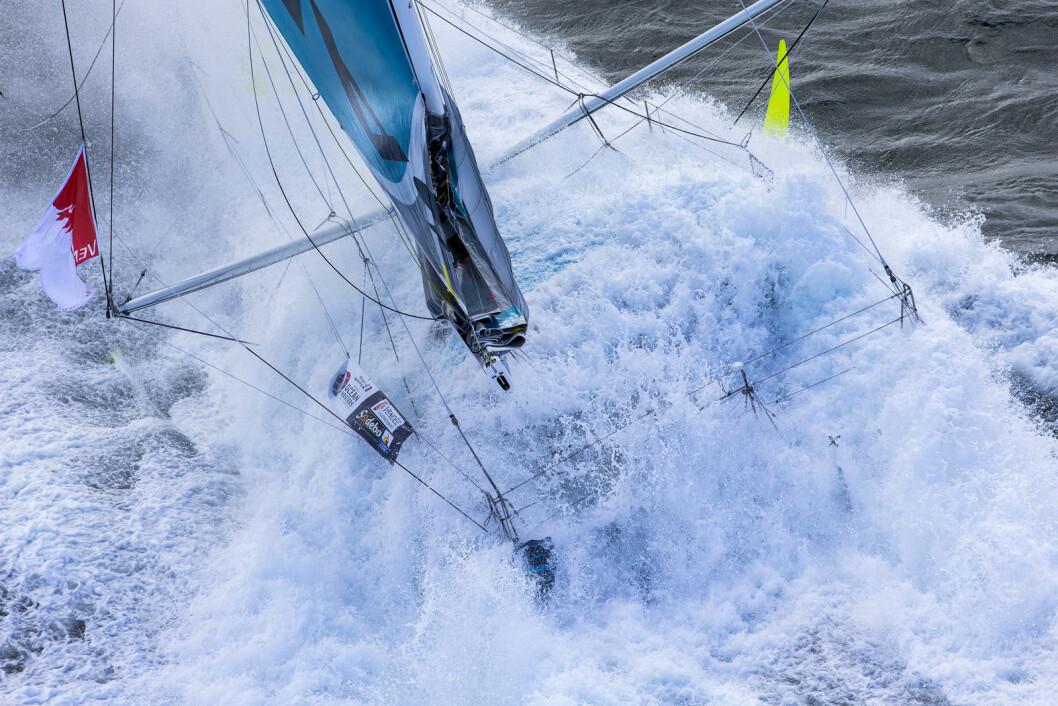 VINNERBILDE: Jean-Marie Liot tok bildet som ble plukket ut som Årets regattabilde.