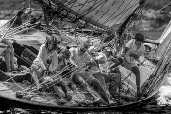 DELEGAT-BILDE: Representantene ved Yacht Racing Forum valgte ut dette bildet som sin favoritt.