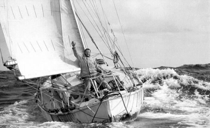 SUHAILI: Robin Knox-Johnston var den første til å fullføre en soloseilas non stop rundt jorden.