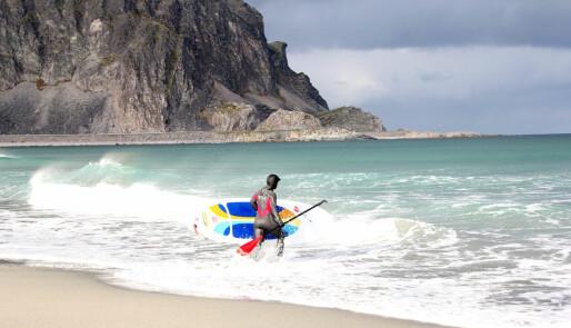 Kite & surf på 70°N