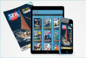 Les SEILmagasinet på mobil og nettbrett