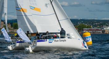 UNGE SEILERE: Tønsberg Seilforening stilte med flere unge seilere i seilsportsligaen. Nå håper foreningens leder på enda større engasjement i 2017 blant foreningens ungdommer.