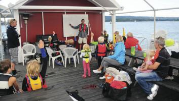 REKRUTTERING: Oslo Seilforening legger stor vekt på rekrutteringsarbeidet og ønsker seg et basseng de de kan slippe ut unge seilere under trygge forhold.