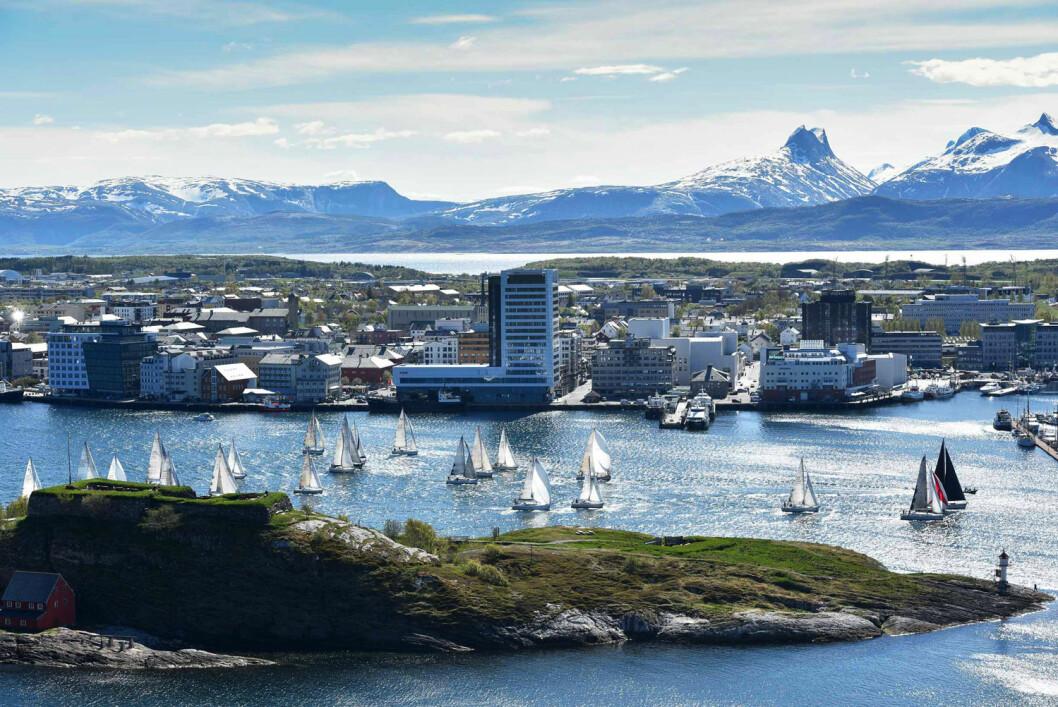 NORDLAND OFFSHORE RACE: Hovedønsket i Bodø Seilforening er å få flere jolleseilere, men det er også å få over 30 båter i Nordland Offshore Race.