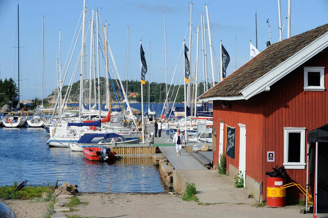 ANDERSENSLIPPEN: I Fredrikstad Seilforening ønsker man seg at enda flere skal finne veien til Andersenslippen og at det skal være deres naturlige samlingspunkt.