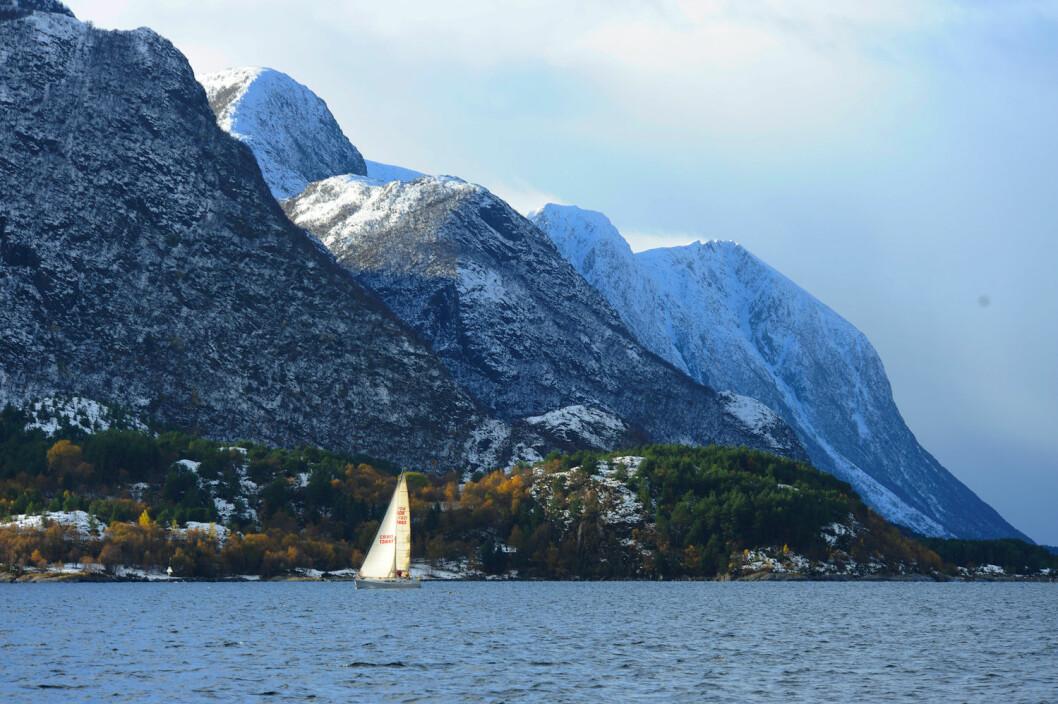 VINTER: Norges natur byr på uante muligheter når det gjelder seiling og kombinasjonen av seiling og ski, fjellturer og så videre.