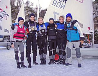Ran-seilerne er godt i gang med sesongen