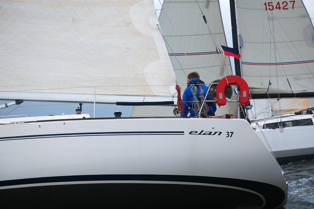 VANT: Morten Nissen-Lie vant den ene av de tre klassene i Zhik Skjæløy OneStar i 2016.