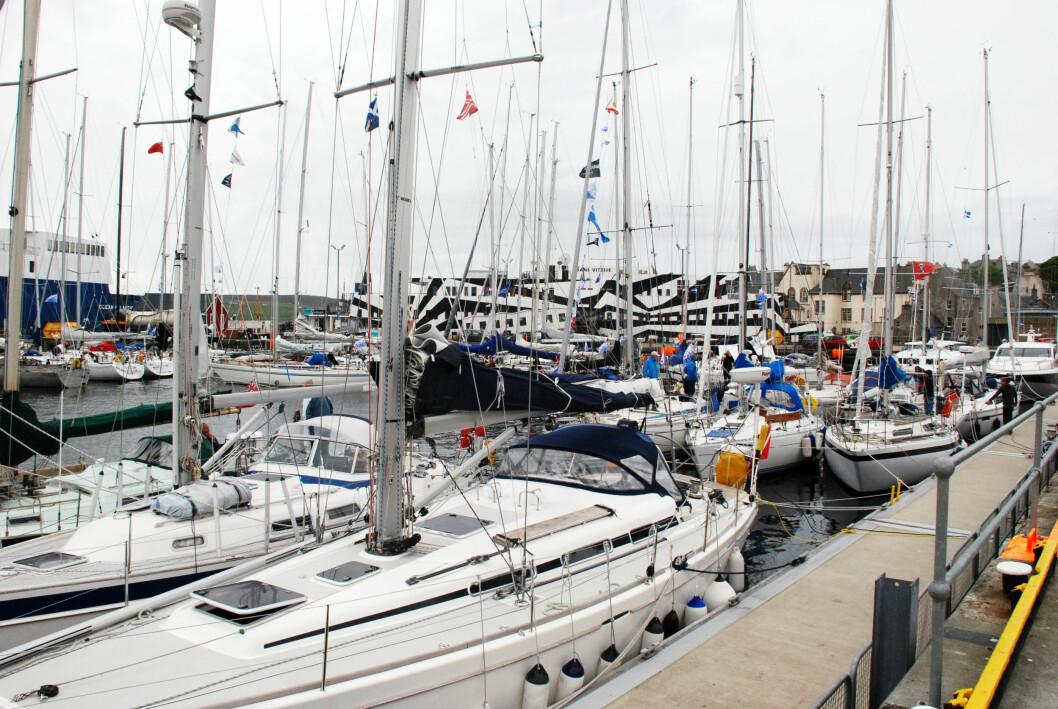 SHETLAND RACE: 5. april vil det bli seilerkro om Shetland Race i Bergens Seilforenings klubbhus.