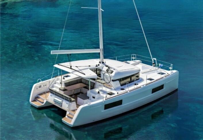 NY: Lagoon 40 blir en aktuell modell for både det norske markedet, og chartermarkedet.