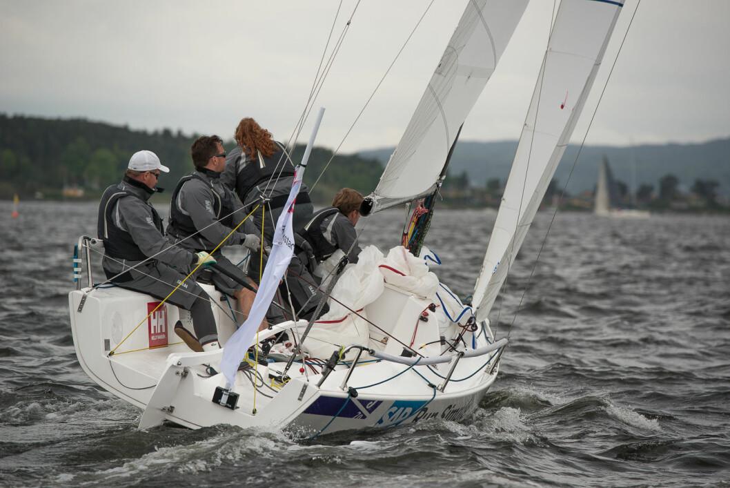 NR. 6: Fredrikstad Seilforening tippes på en 6. plass i årets seilsportsliga.