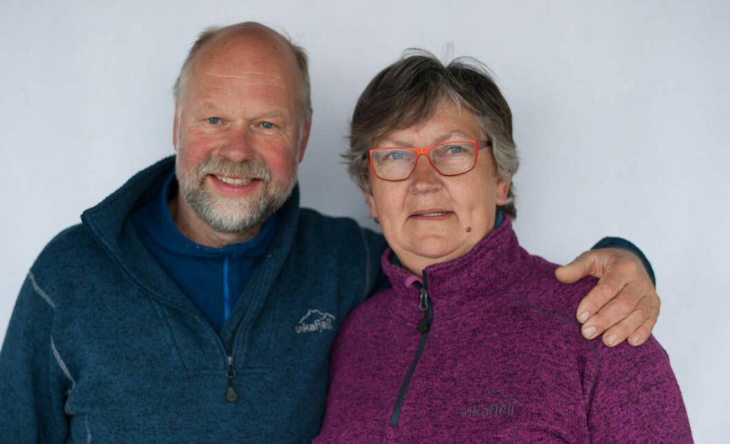 SUVERENE: Petter Ankjær-Jensen og Nina Rosenlund seilte aller best under Norgeshus Seilmakeren Doublehanded 2017.