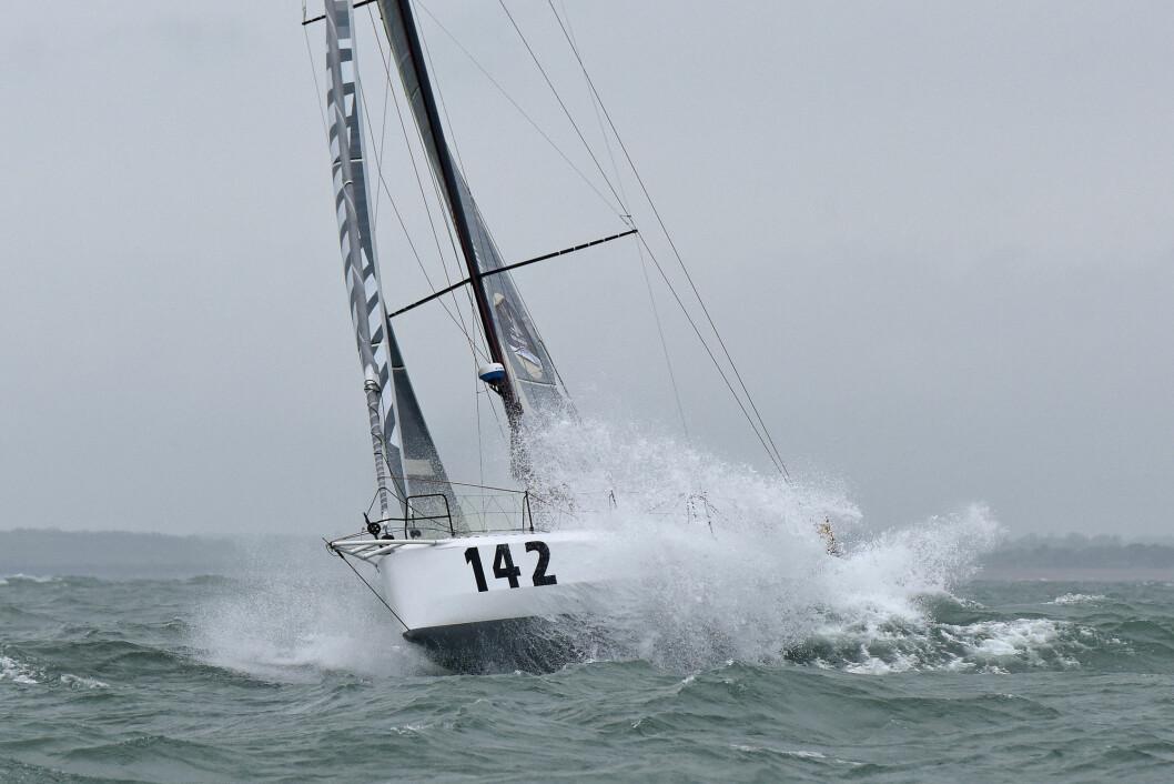 SOLO2: Rune Aasberg og Simen Løvgren seilte inn til 11. plass i Normandie Challenge Race.