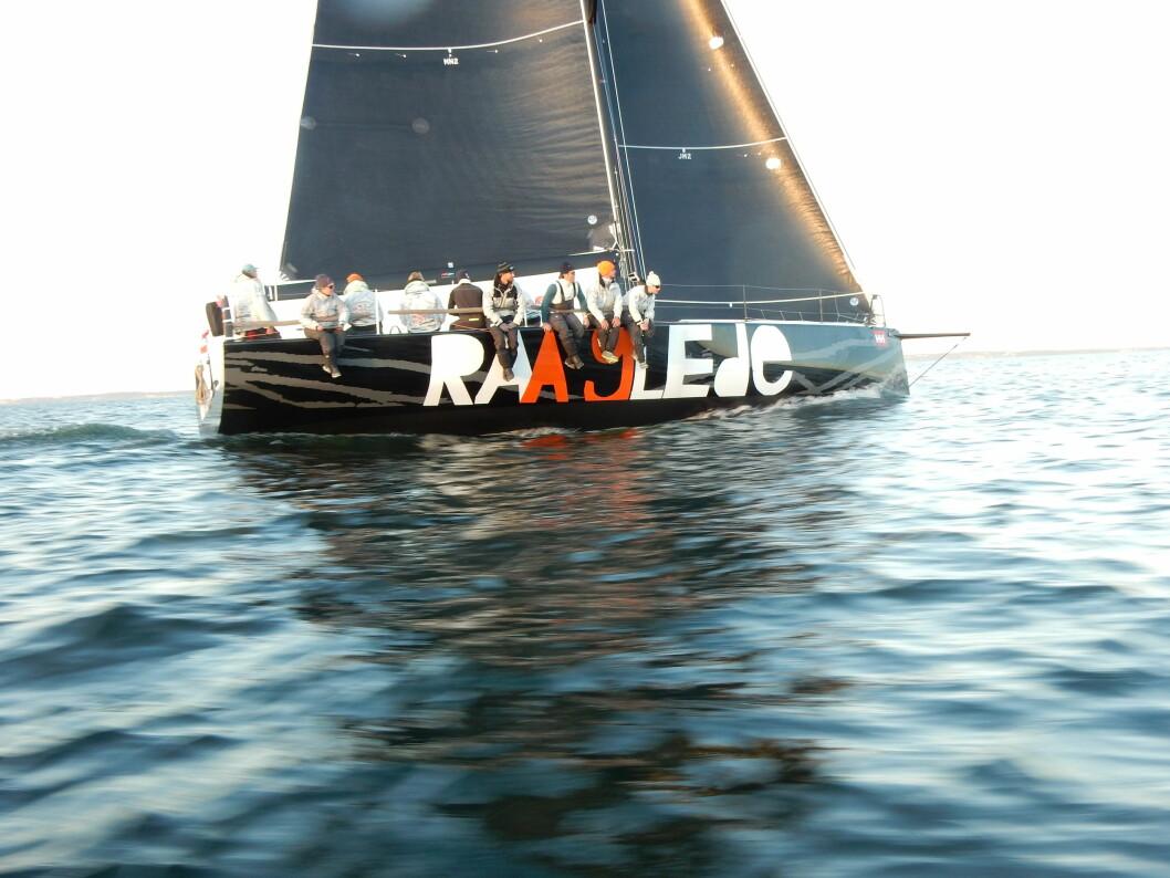 RASEST: «Raa Glede» var raskest til Skagen i fjor, men vil i år bli truet av Open 60 «Galactica Viking»
