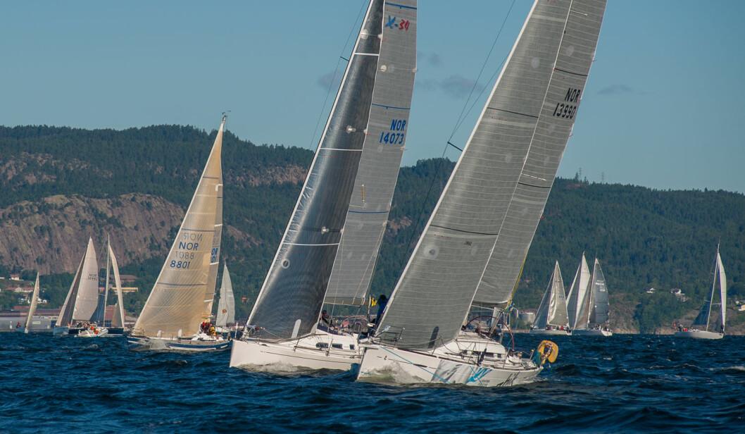 MARGINER: Ofte avgjøres respitt-regattaer med små marginer, og om de skyldes unøyaktige mål på båt og utstyr, er jo det litt dumt?
