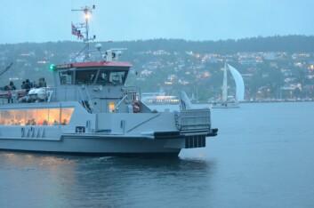 OSCARSBORG: Kun enslige Færderdeltagere har passert Oascarsbord siden det var en lite rush av raske båter rundt kl 21:00