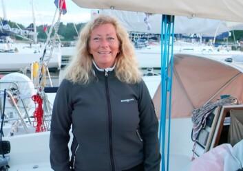 LEDER: Eira Naustvik er skipper på «Supernova» eneste jentebåt i år.