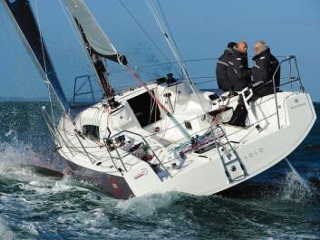 HAVSEILAS: Jeanneau 3600 er en nyhet som passer godt inn i regattatrenden i Vest-Europa. Båter som J/111, JPK 1010, Xp 33 og nå også Sun Fast 3600, er konkurrasnedyktige under IRC både med fullt mannskap og shorthanded. Båtene er store nok for ...