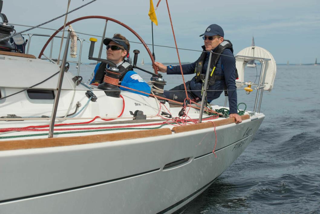 SEIER: Elling og Øyvind Rishoff vant klassen og over all i Raymarine 2Star.