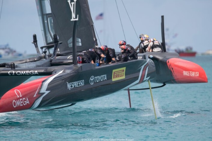 17/06/2017 - Bermuda (BDA) - 35th America's Cup 2017 - 35th America's Cup Match Presented by Louis Vuitton, Race day 1