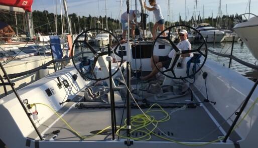 Aquatich 40 på vannet, klar for VM