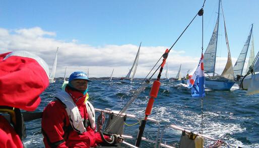 47 båter setter seil over Nordsjøen