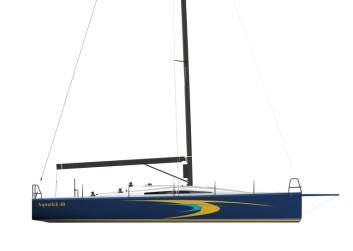 RASK: Aquatich 40 har lav vekt, tung kjøl og mye seil. Få nye båter i denne størrelsen er optimalisert for ORCi.