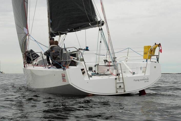 BYGS: Med 2. plass i Raymarine 2Star foretok Colin og Edward Campbell et godt bygs opp på rankingen.