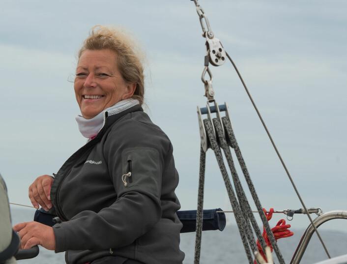 NÆRMER SEG: Eira Naustvik er nå 3. beste kvinnelige seiler på rankingen.