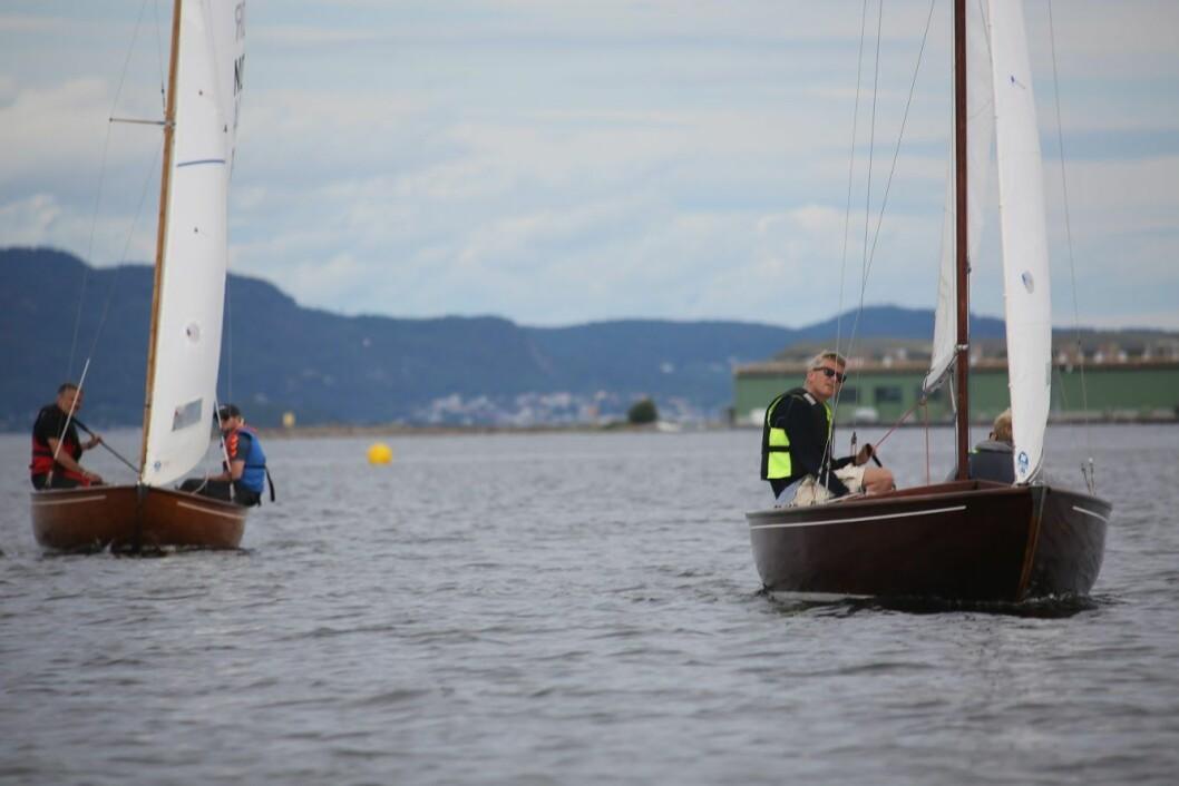 VANT NM: Jørn Pettersen og sønnen Eivind var nok en gang best i BB 11-NM.
