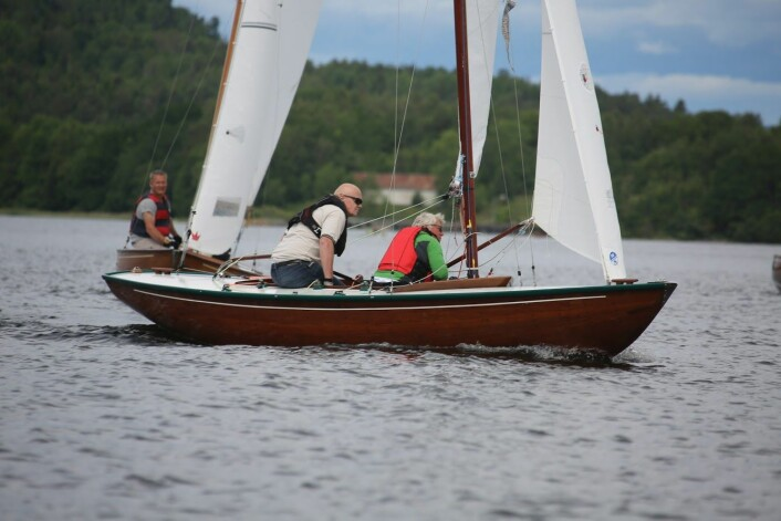 SØLV: Pål Persen og Runar Borge vant sølv.