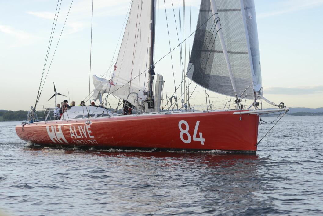 STOR: «Galactic Viking» er en Open 60, og blir den eneste norske båten i AF Offshore Race.