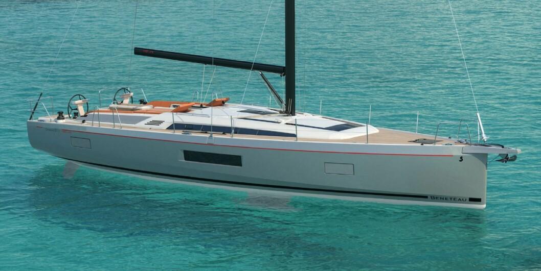 NY: Oceanis 51.1 vil bli vist på messen i Cannes i september.