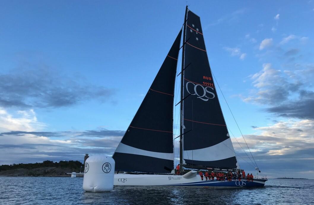 CQS går i mål ved Sandhamn