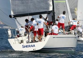 LEDER: Club Swan 42 har gode forhold. En slik båt leder både den største og den mellomste klassen.
