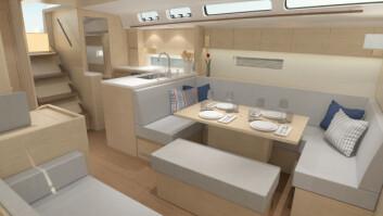 EIK: Også X-Yachts leverer nå med lys innredning.