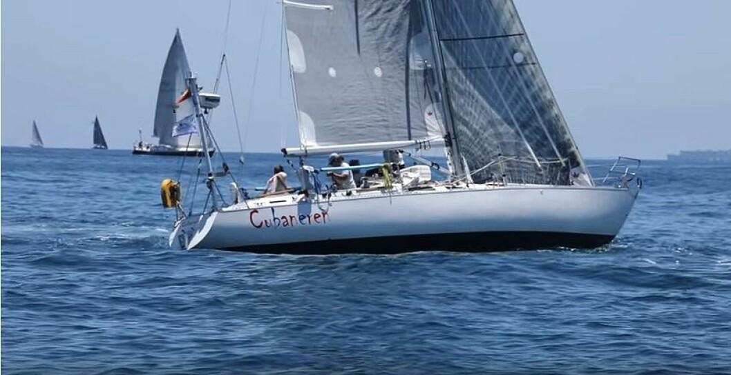 DELTAR: Den norske båten «Cubaneren» deltar i den amerikanske havseilasklassikeren Transpac.