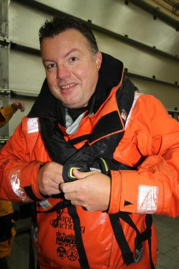 PETER GUSTAFSSON: Med seier i Bohusracet vil Peter Gustafsson utfordre norske seilere på nytt.