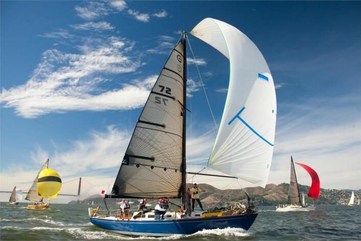 CAL 40: De norske seilernes hardeste konkurrent er amerikanske «Azure» som er av typen Cal 40.